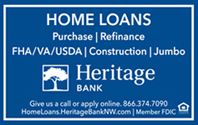 Welcome to Heritage Bank NW
